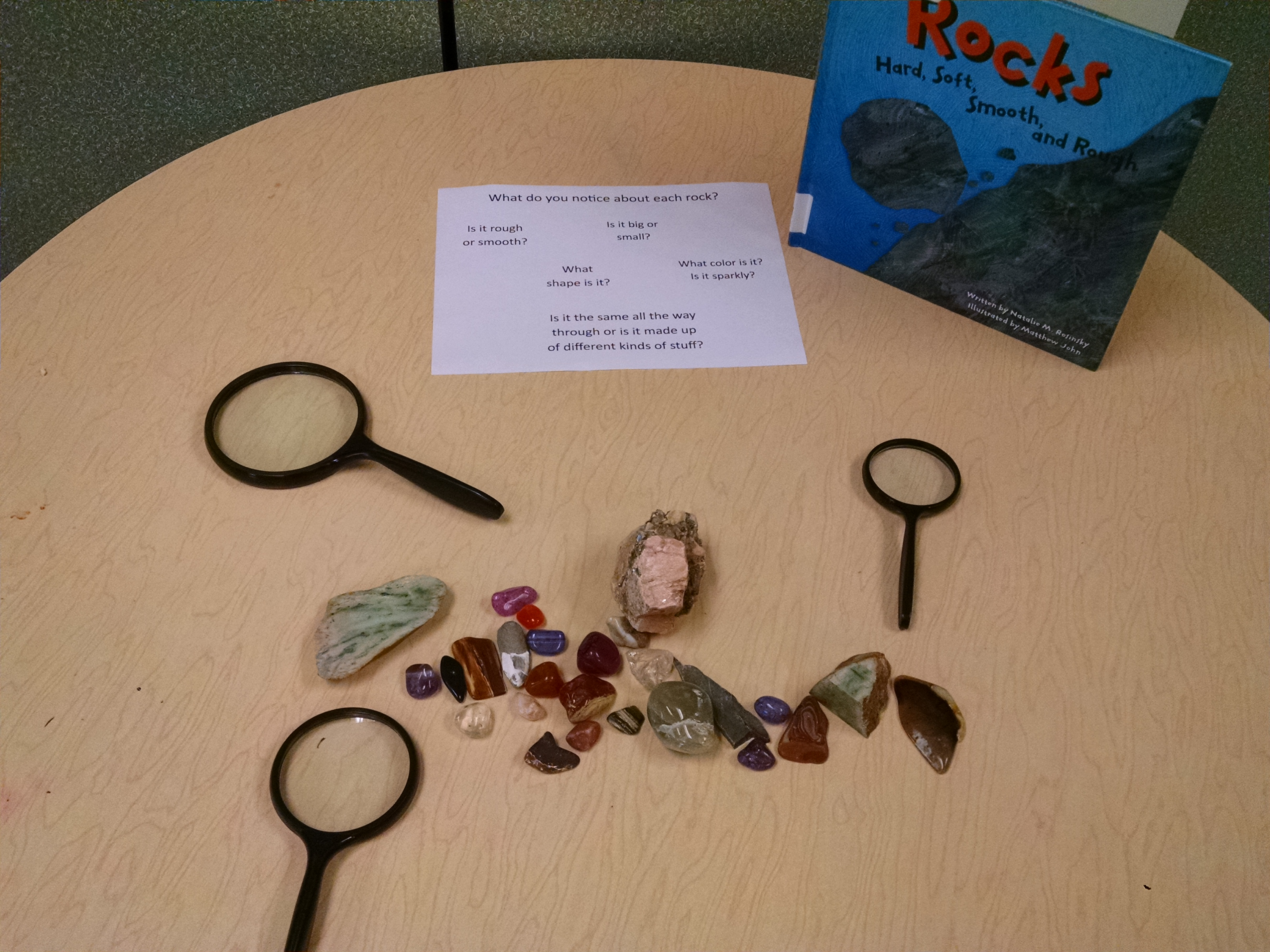 the rock factory the story about the rock cycle science works