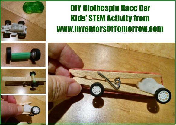 clothespin-racer