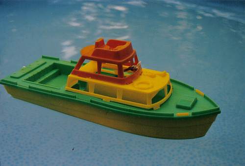 Natural! boat toy could