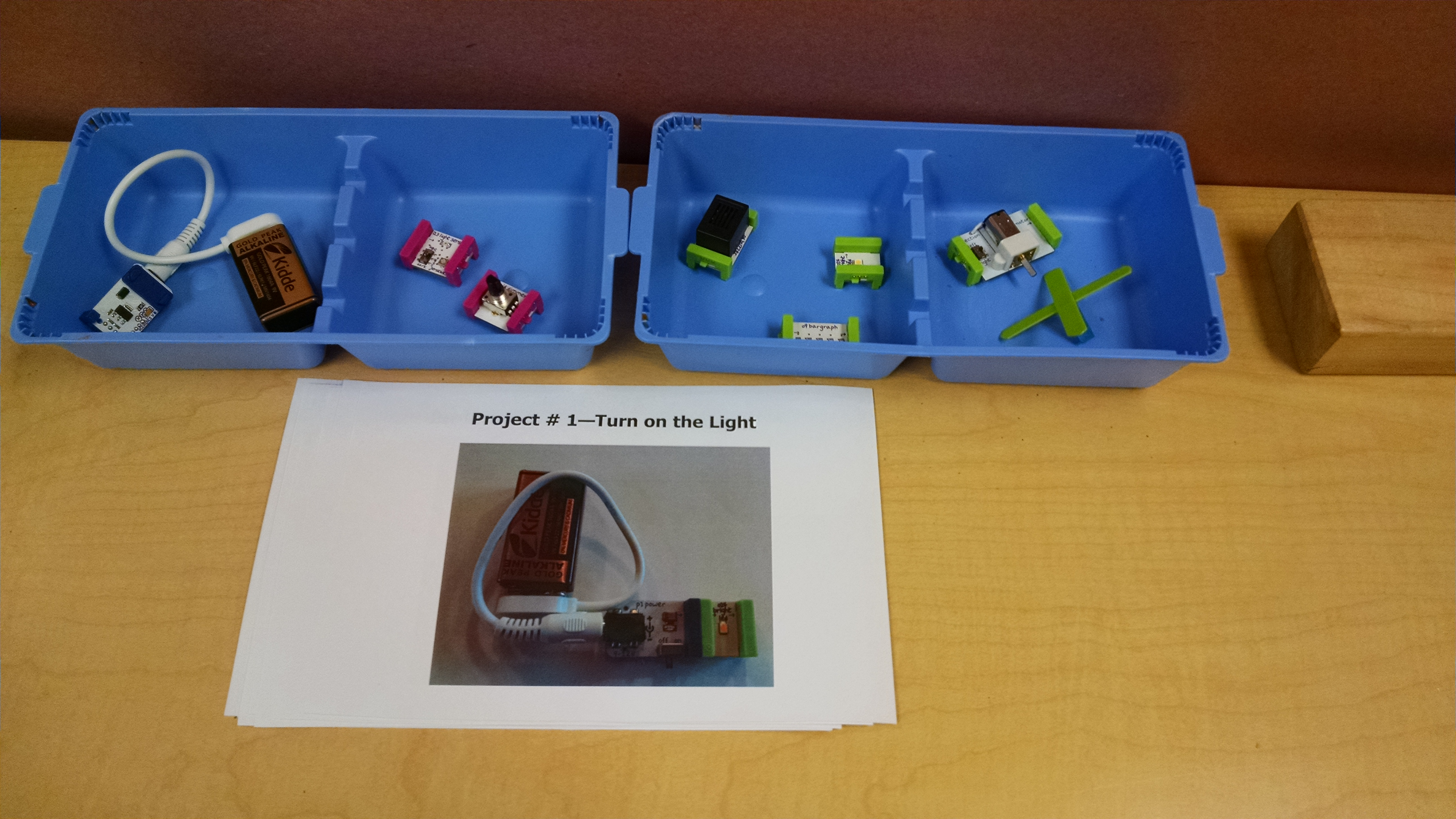 Littlebits Vs Snap Circuits Inventors Of Tomorrow Home Products Science Kits Green Lightsensor Img 20161105 092317555