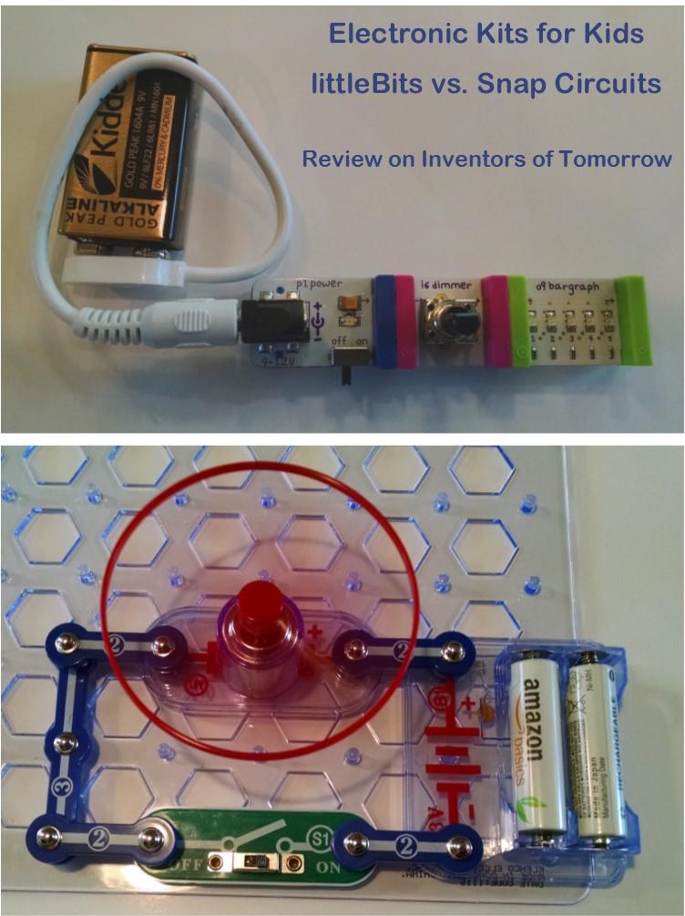 de9b8d128 littleBits vs. Snap Circuits – Inventors of Tomorrow