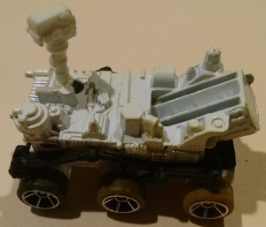 Hot Wheels Mars Rover